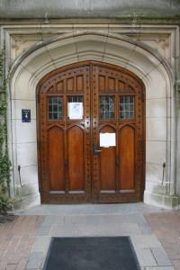 McCosh Door